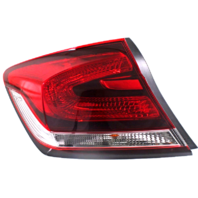Fits 13-15 Honda Civic Sedan EXC Hybrid Left Driver Tail Lamp Quarter Mounted