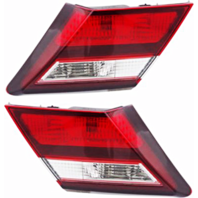 Fits 13-15 Civic Sedan Excludes Hybrid Left & Right Set Tail Lamp - Lid Mounted