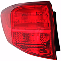 Fits 13-15  RDX Left Driver Tail Lamp Assembly Quarter Mounted