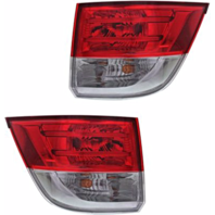 Fits 14-17 Odyssey Left & Right Set Tail Lamp Assemblies Outer Body Mounted