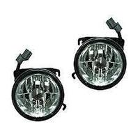 Fits 03-05  Pilot Left & Right Fog Lamp Assemblies (pair)