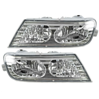 Fits 07-09 Acura MDX Left & Right Fog Lamp Assemblies (Pair)