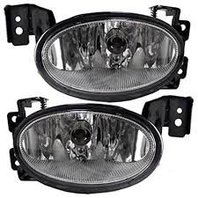Fits 04-08 Acura TSX Fog Light Pair with Bracket, Driver and Passenger