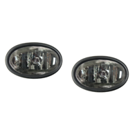 Fits 06-08 Honda Civic Coupe L & R Fog Lamp Pair (excludes sedan, hatchback)