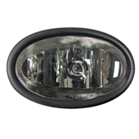 Fits 06-08 Honda Civic Coupe Left Driver Fog Lamp (excludes sedan, hatchback)