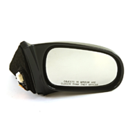 Fits 96-00  Civic Coupe Right Passenger Mirror Power Smooth Black