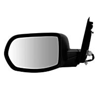 Fits 12-16  CR-V Left Driver Mirror Power Textured Black Manual Folding