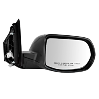 Fits 12-16  CR-V Right Pass Power Mirror Unpainted Man Fold No Heat Or Sig
