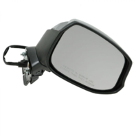 Fits 12-13  Civic Right Passenger Mirror Power Non-Painted Black w/Heat