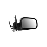 Fits 02-06  CR-V Right Pass Power Mirror Textured Black Manual Fold W/Heat