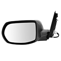 Fits 12-16 CR-V Right Passenger Power Mirror Unpainted Manual Folding With Heat