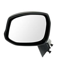 Fits 12-15  Civic Left Driver Mirror Manual Textured Black