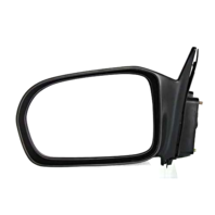 For 01-05 Civic Coupe (HX/LX) Left Driver Power Mirror No Heat - Painted NH623M