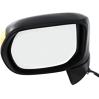 Fits 06-11  Civic Hybrid Left Driver Mirror Power Smooth With Signal Lamp