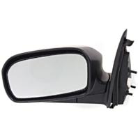 Fits 03-05  Civic Hybrid Left Driver Mirror Power Textured Black No Heat