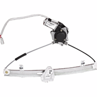 Fits 01-05 Civic Sdn Exc 03-05 Hybrid Rt Pass Frnt Pwr Window Regulator W/ Motor