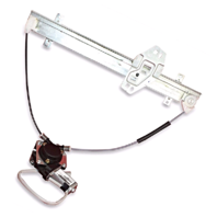 Fits 01-05 Hd Civic Coupe Power Window Regulator with Motor Front Right Passenger