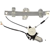 Fits 98-04 Acura RL Left Driver Side Rear door Power Window Regulator with Motor