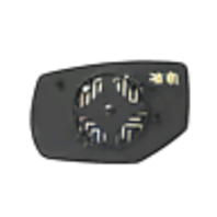 Fits 13-16 Accord Right Pass Convex Heated Mirror Glass w/Rear Back Plate OE