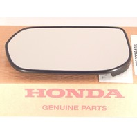 Fits 07-12 Acura RDX Left Driver Heated Mirror Glass Lens w/ rear back plate  OE