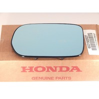 Fits 02-06 MDX Left Driver Heated Blue Mirror Glass w/ Backing Plate OE Part