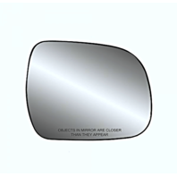 Fits 05-15 Toyota Tacoma, 10-13 Highlander Right Passenger Mirror Glass w/Holder