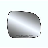 Fits 05-15 Tacoma, 10-13 Highlander Right Passenger Mirror Glass w/Holder