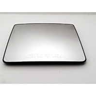 Fits 04-14  F150 Right Pass Upper Tow Mirror Glass w/ Rear Holder non Heated
