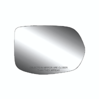 Fits 12-16 Honda CR-V Right Pass Heated Mirror Glass w/ Rear Holder