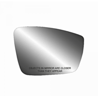 Fits 11-18 VW Jetta 13-17 Passat 12-18 Beetle Right Pass Mirror Glass w/ Holder 3 Opt