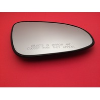 Fits 14-17 Corolla Right Passenger Convex Mirror Glass Lens w/ Rear Holder
