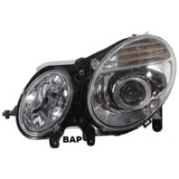 Fits 03-07 MB E-CLASS LEFT DRIVER HALOGEN HEADLAMP ASSEMBLIES TO 6/30/06