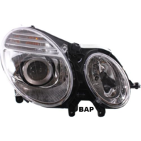 FITS 07-09 MERCEDES BENZ E-CLASS RIHGT PASS HALOGEN HEADLAMP ASSM FROM 6/30/06