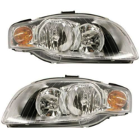 Fits 05-08  A4 Gen 3 Sedan/Wagon 07-09 A4 Conv Left & Right Headlamp - Set
