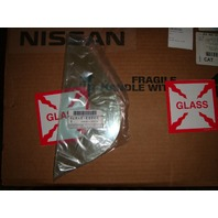 Right Pass Rear Small Fixed Vent Glass for 00-03 Maxima, 00-04 Inf I30, I35 OE