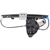 Fits 02-05 Land Rover Freelander Rear Right Pass Window Regulator With Motor