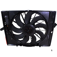 Radiator Fan Assembly Fits 04-05 BMW 545i, 06-07 BMW 525i/530i, 08-10 BMW 528i, 04-05 BMW 645i, 06-08 BMW 750i