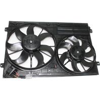 Cooling Fan Assembly, For 06-13  A3, 08-13  TT 2.0L, 05-13 VW Various Models 2.0L