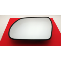 Fits 07-12 Hyundai Veracruz Heated Left Driver Mirror Glass w/Rear Back Plate non Auto Dimming OE
