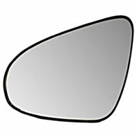 New Left Driver Mirror Glass w/ Rear Holder OE for 12-14 Toyota Yaris