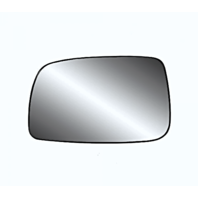 Fits 07-11 Toy Camry USA Built Left Driver Side Mirror Glass w/ Holder