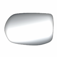 Fits 12-16 Honda CR-V Left Driver Heated Mirror Glass w/ Rear Holder