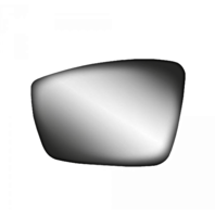 Fits 11-18 VW Jetta 13-17 Passat 12-18 Beetle Left Mirror Glass w/Holder 3 Opts