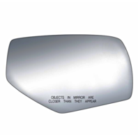Fits 14-18 1500 Silverado, Sierra 15-18 2500, 3500 Right Pass Mirror Glass Lens