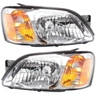 Fits 00-04 Legacy Brighton / L; 03-06 Baja Sport Lt & Rt Headlamp Assemblies-set