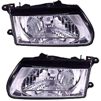 Fits 00-02  Passport; 00-02 Iu Rodeo Left & Right Headlamp Assemblies
