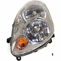 Fits 03-04  G35 SEDAN LEFT DRIVER HALOGEN HEADLAMP ASSEMBLY