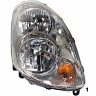 Fits 03-04  G35 SEDAN LEFT & RIGHT SET HALOGEN HEADLAMP ASSEMBLIES