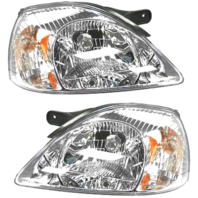 Fits 03-05  Rio / Rio Cinco Left and Right Headlamp Assemblies - Set