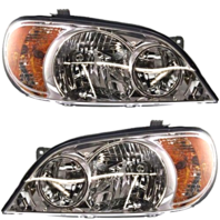 Fits 02-05  Sedona Left & Right Halogen Headlight Assemblies - Set